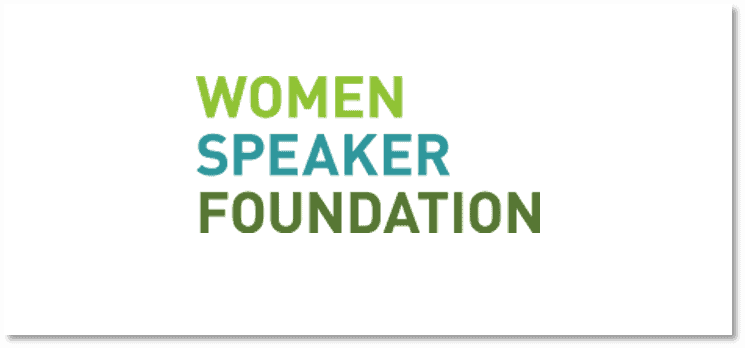Logo Women Speaker Foundation
