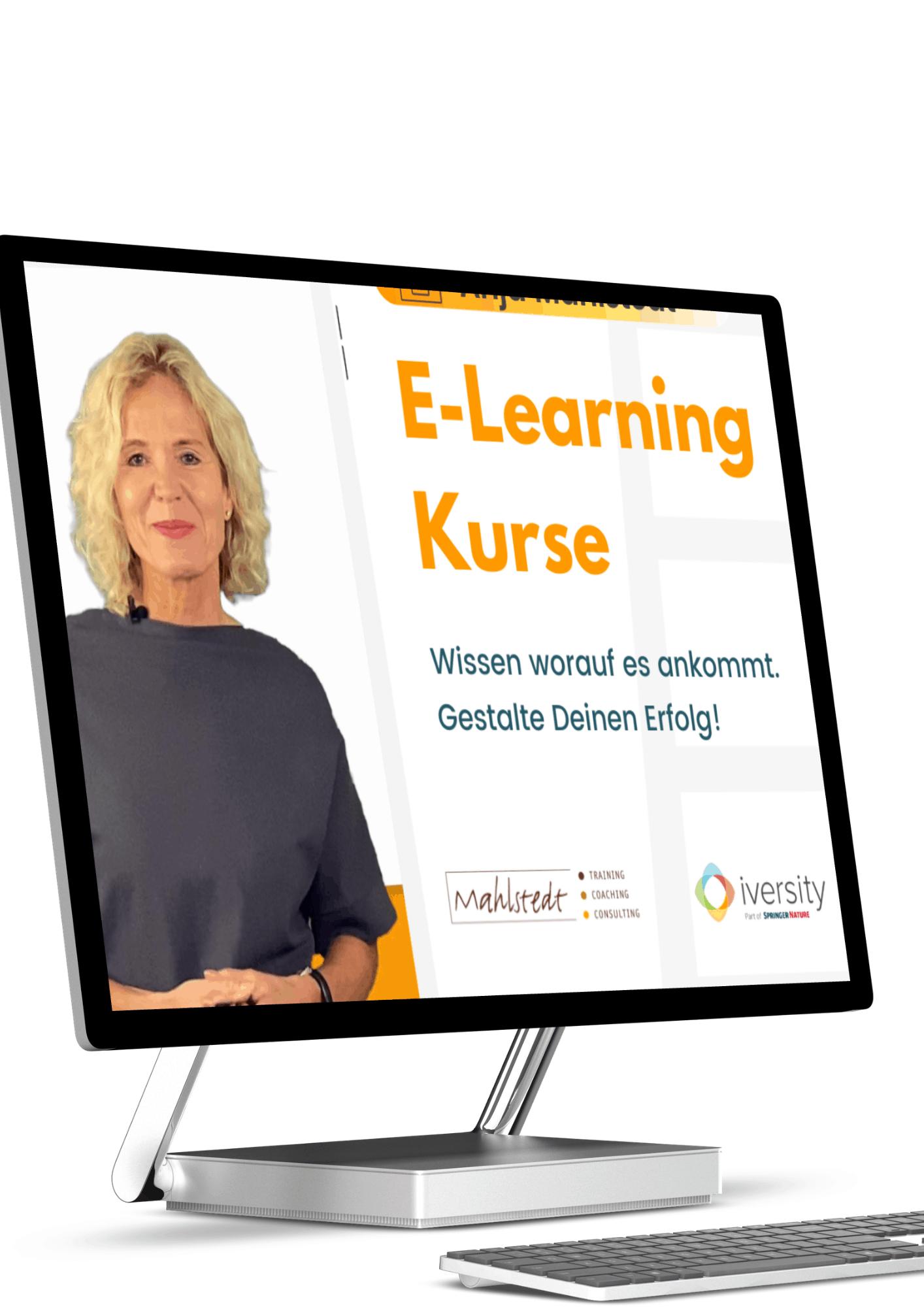 E-Learningkurse Anja Mahlstedt in Kooperation  mit Inversity
